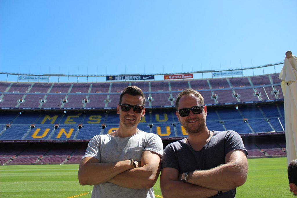 Podíval jsem se i na stadion svého nejoblíbenějšího klubu, FC Barcelona