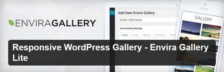 Envira Gallery WordPress