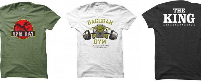 Nejprodávanější trička Sportinátor