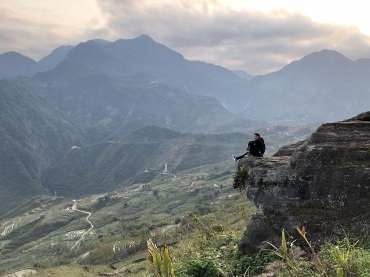 Naše putování po Vietnamu jsem si hodně užil