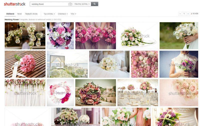 Obrázky ze Shutterstocku