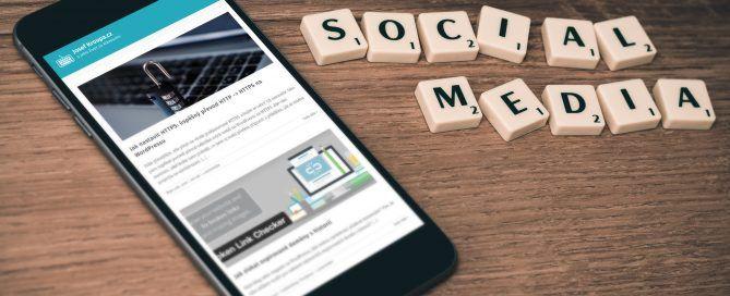 Sdílení na sociálních sítí