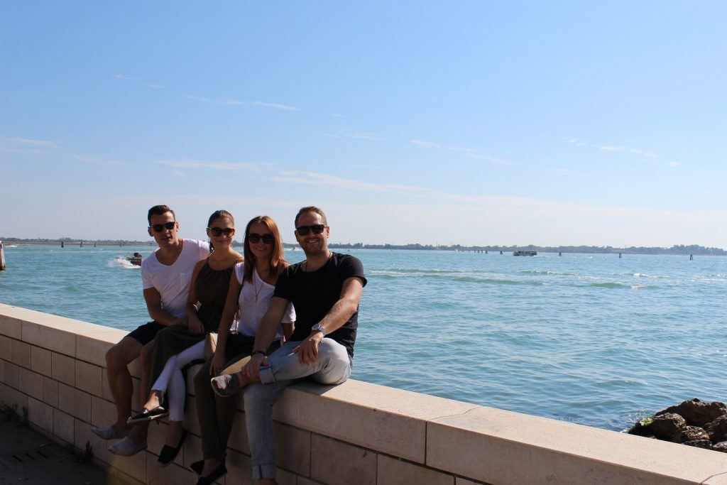 Společná fotka z Benátek